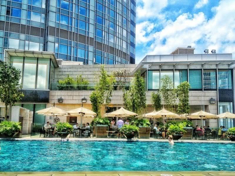 Summer With Fashion Hedonism Four Seasons Hong Kong Swimming Pool Christing C